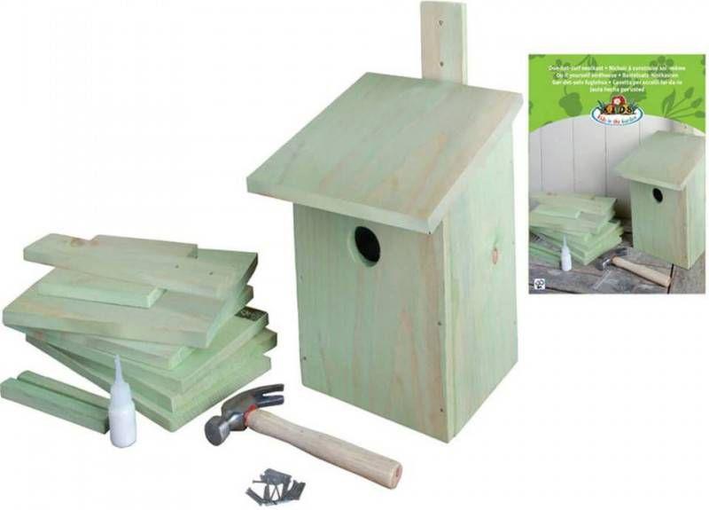 Esschert Design Doe het zelf vogelhuis 21, 3x17x23, 3 cm KG52 online kopen