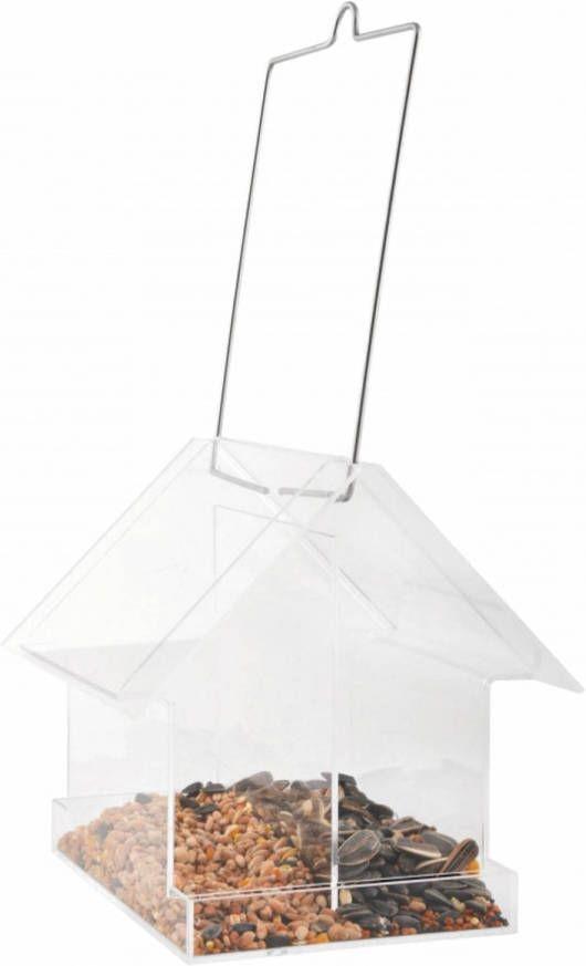 Merkloos Vogelvoederhuisje Voor Kleine Vogels 15 Cm online kopen