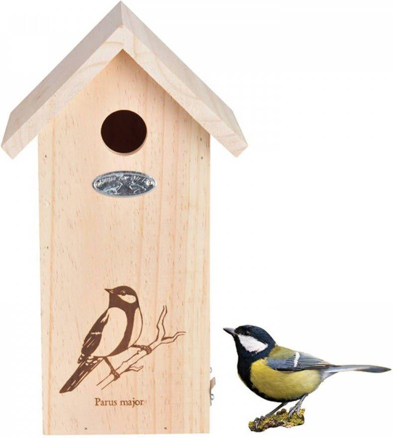 Esschert Vogelhuis Nestkast Huis Koolmees online kopen