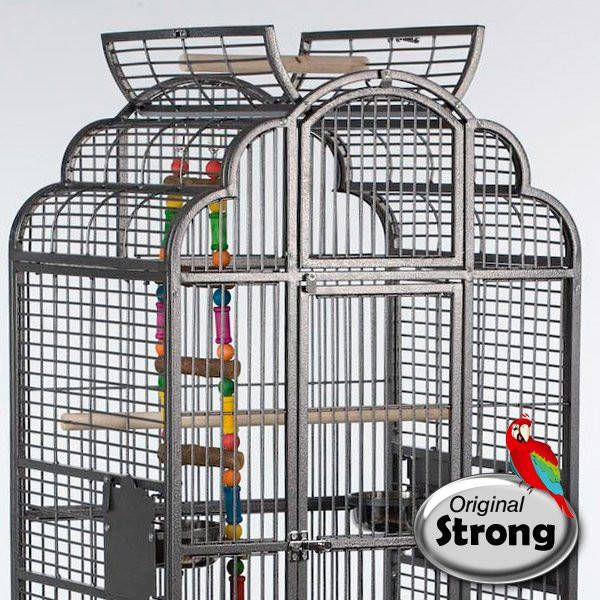 Strong Papegaaienkooi Claudia grijs online kopen