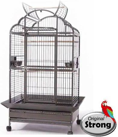 Strong Papegaaienkooi Emma Grijs online kopen