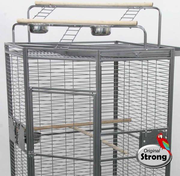 Strong Papegaaienkooi Erica Grijs online kopen