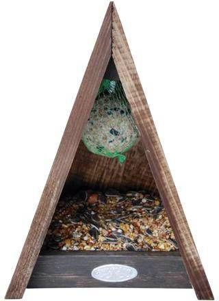 Esschert Design Driehoekig Vogelvoederhuis / online kopen