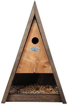 Esschert Design Driehoeks vogelhuisje combikast / online kopen