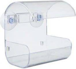 Plastic raam voederbak met 2 zuignappen online kopen