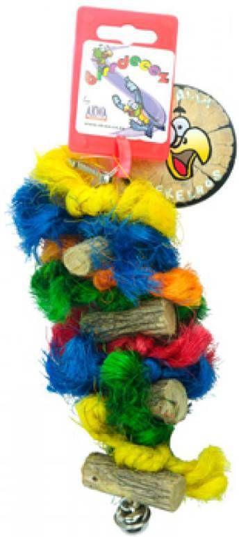 Birrdeeez Vogelspeelgoed Sekelbos Touw RT1 17,5 cm online kopen