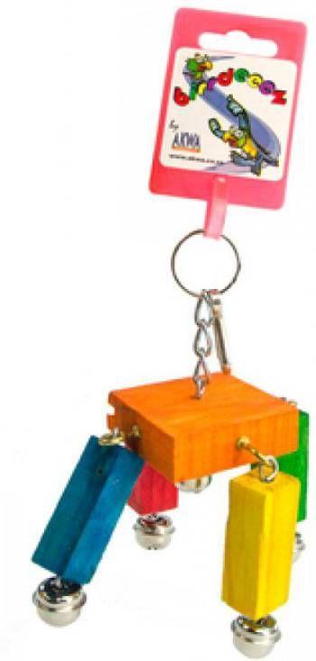 Birrdeeez Vogelspeelgoed Toy 8 cm online kopen