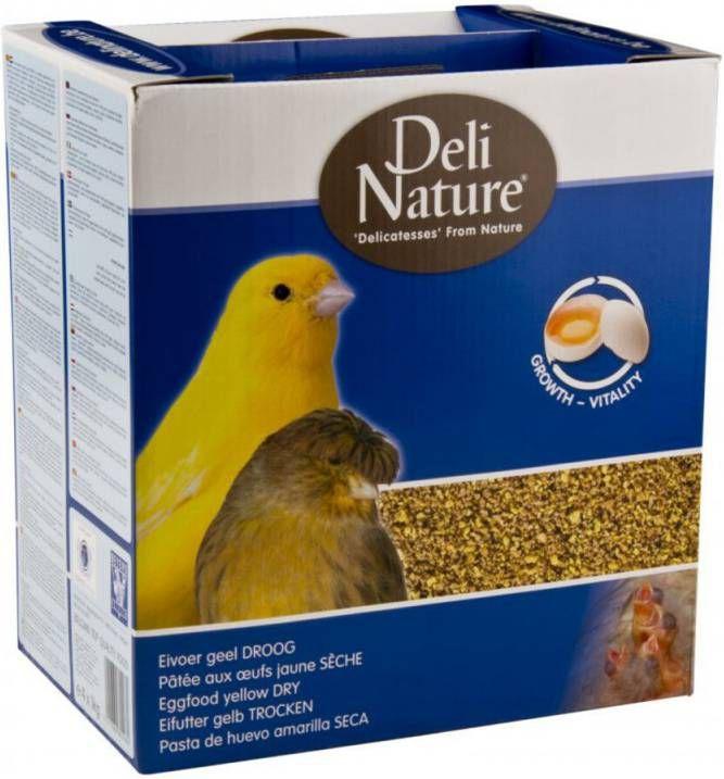 Deli Nature 4x Eivoer Droog Geel 1 kg online kopen
