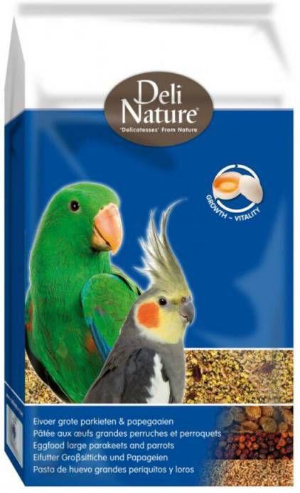 Deli Nature Eivoer Parkiet en Papegaai 10 kg online kopen