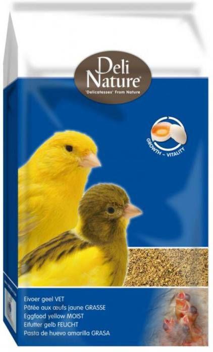 Deli Nature Eivoer Vet Geel 10 kg online kopen