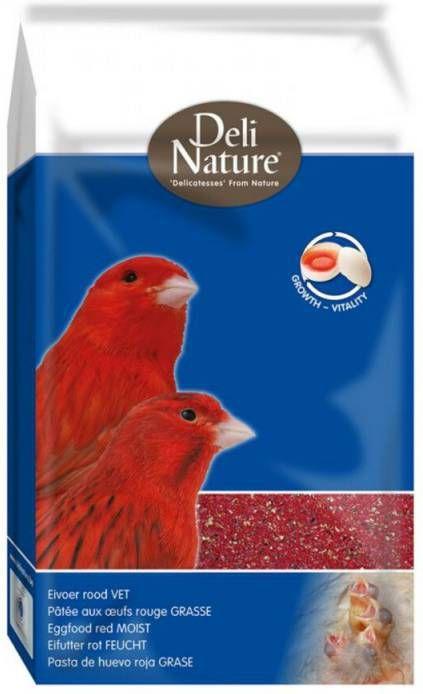 Deli Nature Eivoer Vet Rood 10 kg online kopen
