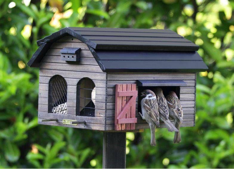 Wildlife Garden Foderlada Brun online kopen