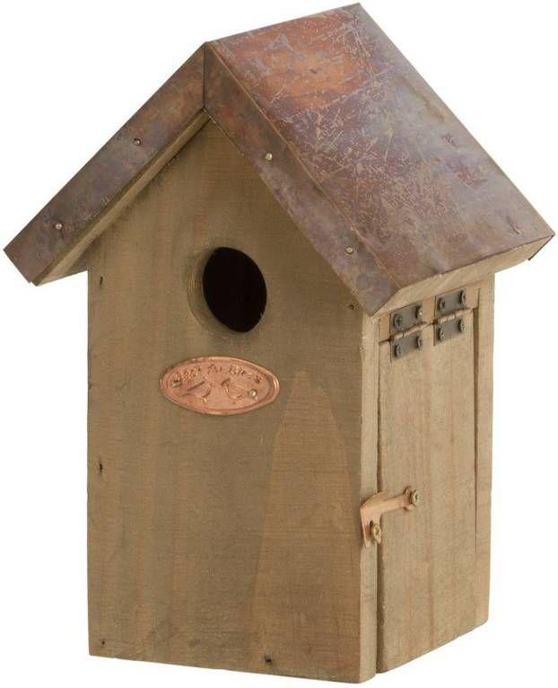Merkloos Vogelhuisje/nestkastje winterkoning 20 cm online kopen