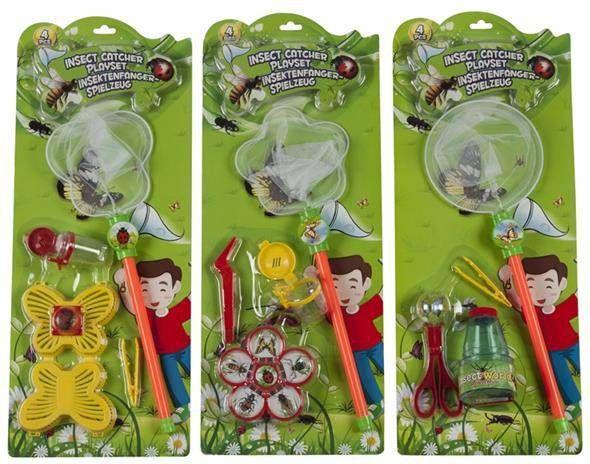 Eigen merk Insectenvanger speelset 4-delig assort online kopen