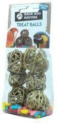 Merkloos Back Zoo Nature Zak A 6 Treat Ball Met Sunflower Seed online kopen
