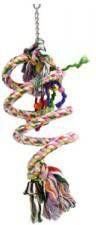 Beeztees Vogelschommel spiraalvorming 15x70 cm katoen online kopen