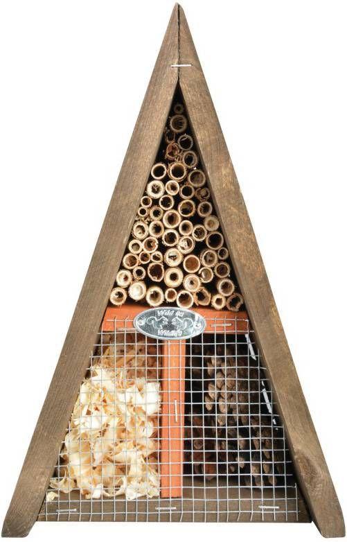 Best For Birds Driehoekig Insectenhotel Nestkast Bruin online kopen