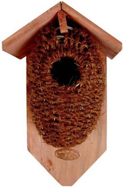 Best For Birds Nestbuidel Kokos Vogelbroedbenodigheden Bruin Groen online kopen