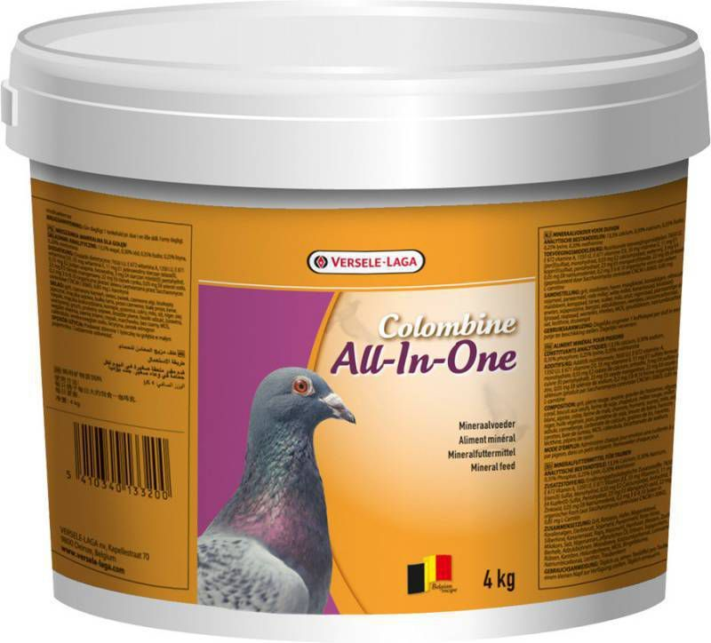 Colombine All-In-One Mix Duivensupplement 4 kg online kopen