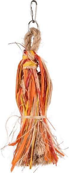 Flamingo Vogelspeelgoed Klok En Gekleurd Papier Vogelspeelgoed 30 cm Multi-Color online kopen