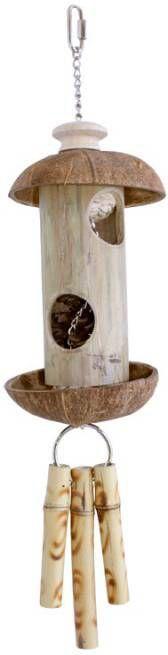 Happy Pet Vogelspeelgoed Kokos Koker Vogelspeelgoed 50x11x11 cm online kopen