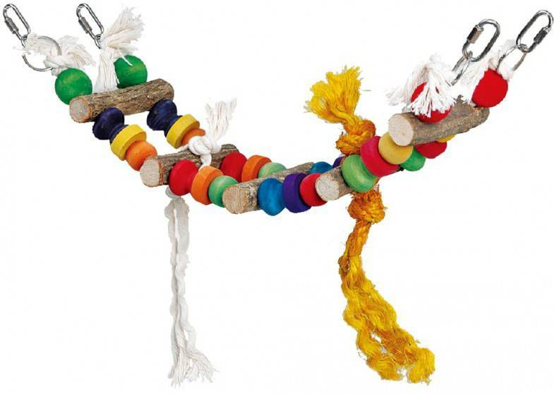 Homestyle Vogelspeelgoed London Bridge Multi-Color Vogelspeelgoed 11x13x44 cm online kopen