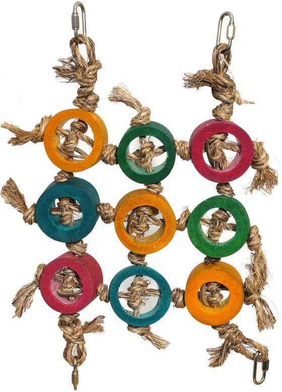 Rosewood Vogelspeelgoed Klimnet Vogelspeelgoed 31x3.5x38 cm online kopen