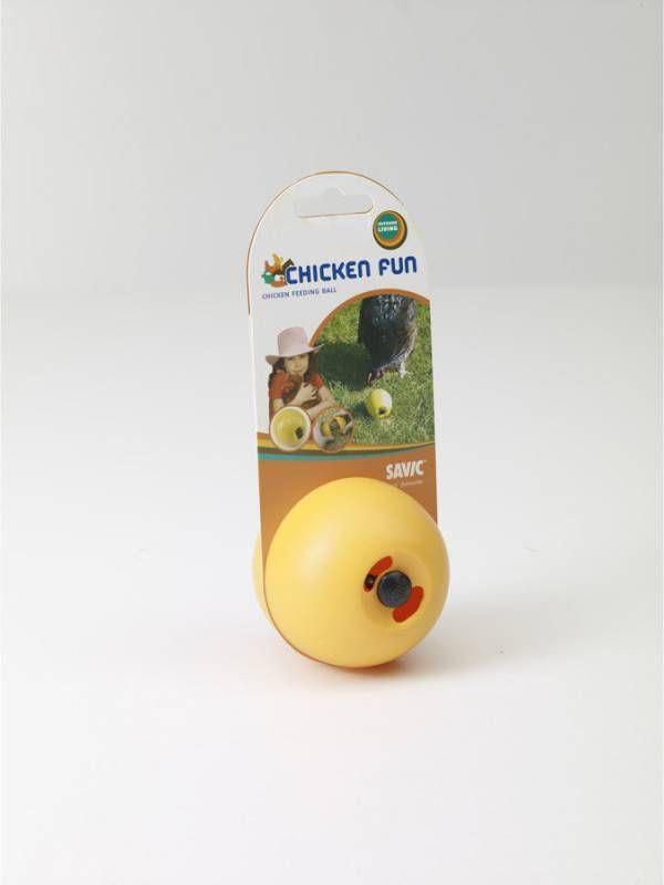 Savic Chicken Fun Kippenspeeltje 7.5x8 cm Geel online kopen