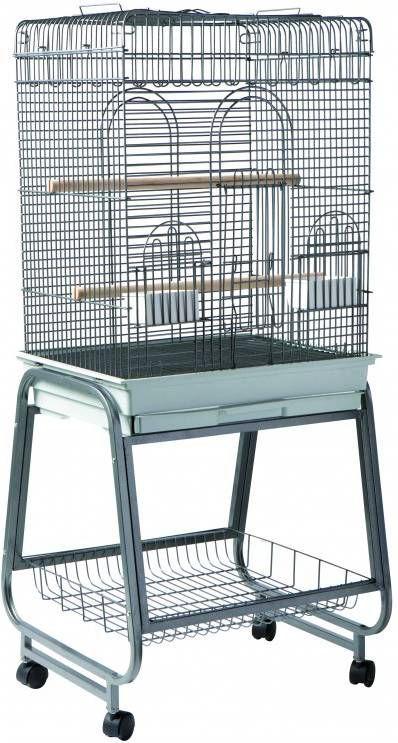 Strong Vogelkooi Aurelia Vogelverblijven 56x43x154 cm Zilvergrijs online kopen