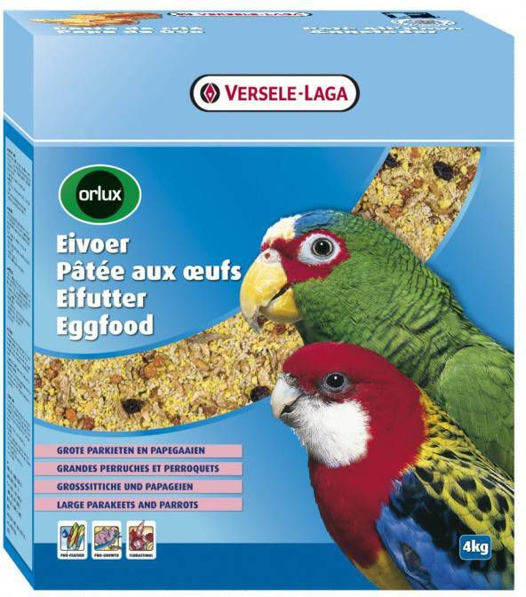 Versele-Laga Orlux Eivoer Droog Gropar/Papagaai Vogelvoer 4 kg online kopen