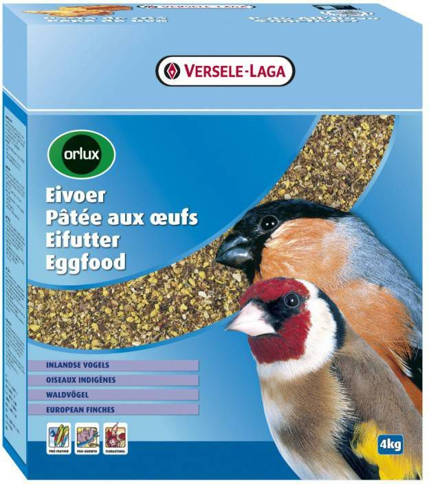 Versele-Laga Orlux Eivoer Droog Wildzang Vogelvoer 4 kg online kopen
