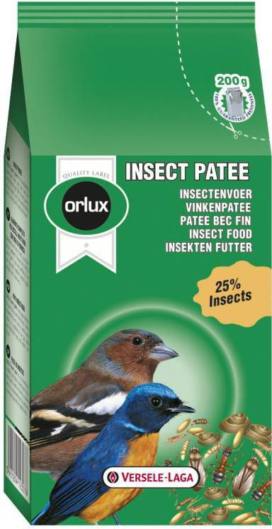 Versele-Laga Orlux Insect Patee Vogelvoer 200 g online kopen
