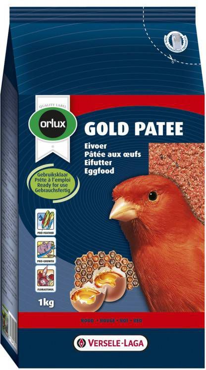Versele-Laga Orlux Gold Patee Rood Vogelvoer 1 kg online kopen