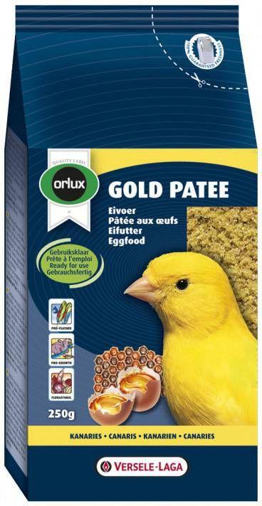 Versele-Laga Orlux Gold Patee Geel Vogelvoer 250 g online kopen