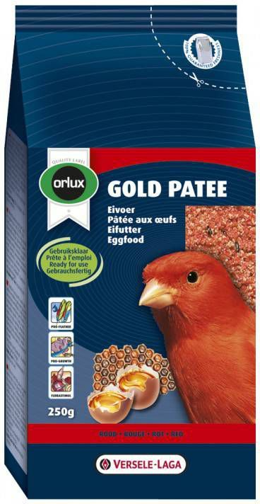 Versele-Laga Orlux Gold Patee Rood Vogelvoer 250 g online kopen