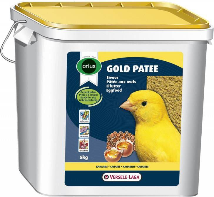 Versele-Laga Orlux Gold Patee Geel Vogelvoer 5 kg online kopen