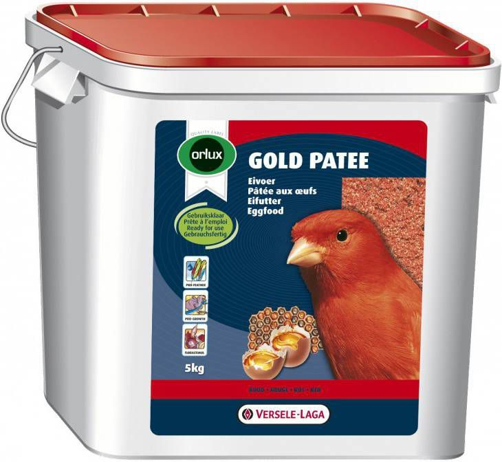 Versele-Laga Orlux Gold Patee Rood Vogelvoer 5 kg online kopen