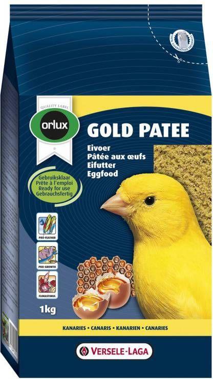 Versele-Laga Orlux Gold Patee Geel Eivoer Vogelvoer 1 kg online kopen