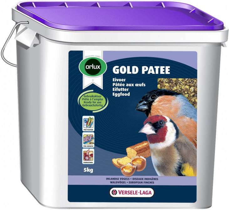Versele-Laga Orlux Gold Patee Inlands Vogel Vogelvoer 5 kg online kopen