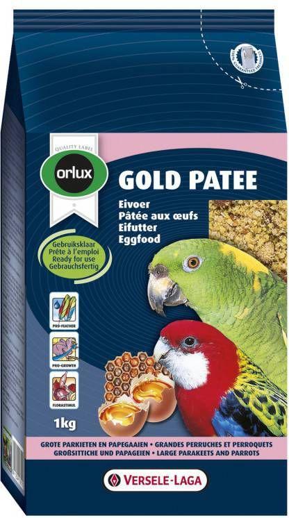 Versele-Laga Orlux Gold Patee Papegaai Vogelvoer 1 kg online kopen