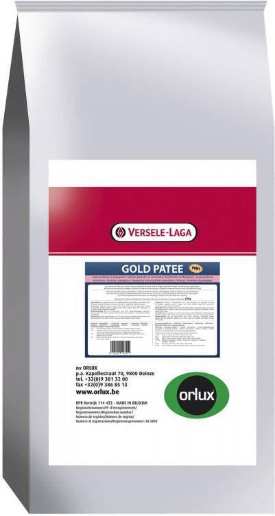 Versele-Laga Orlux Gold Patee Papegaai Vogelvoer 25 kg online kopen
