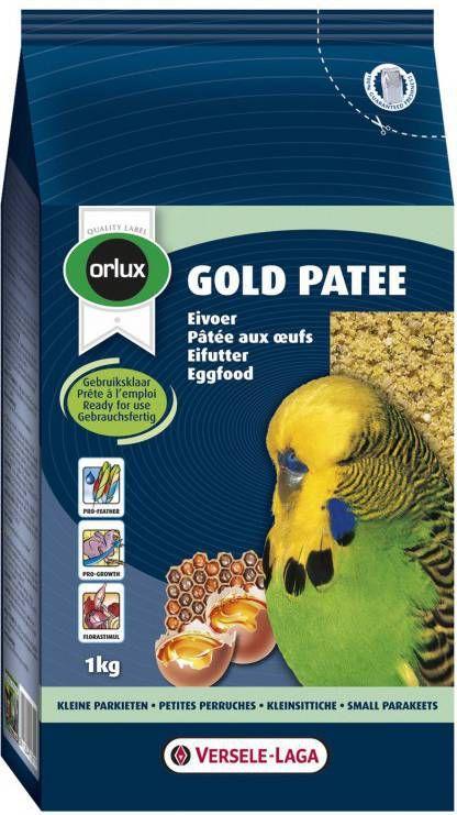 Versele-Laga Orlux Gold Patee Parkiet Vogelvoer 1 kg online kopen