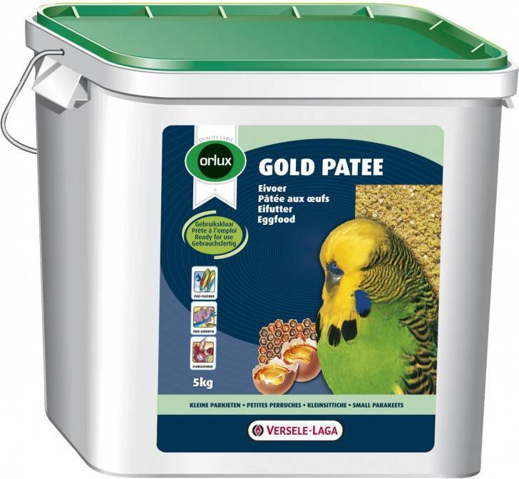 Versele-Laga Orlux Gold Patee Parkiet Vogelvoer 5 kg online kopen
