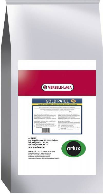Versele-Laga Orlux Gold Patee Geel Profi Vogelvoer 25 kg online kopen