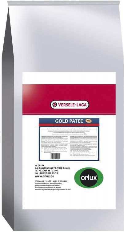 Versele-Laga Orlux Gold Patee Rood Profi Vogelvoer 25 kg online kopen