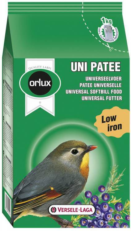 Versele-Laga Orlux Uni Patee Universeelvoer Vogelvoer 25 kg online kopen