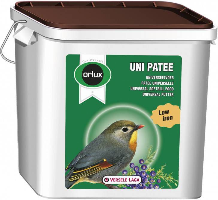 Versele-Laga Orlux Uni Patee Universeelvoer Vogelvoer 5 kg Emmer online kopen
