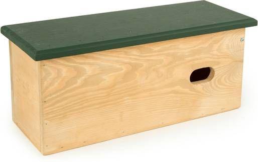 Wildbird Nestkast Gierzwaluw Tulun Broeden 46x18x19.5 cm Bruin Groen online kopen