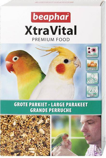 Xtra Vital Grote Parkiet Vogelvoer 1 kg online kopen