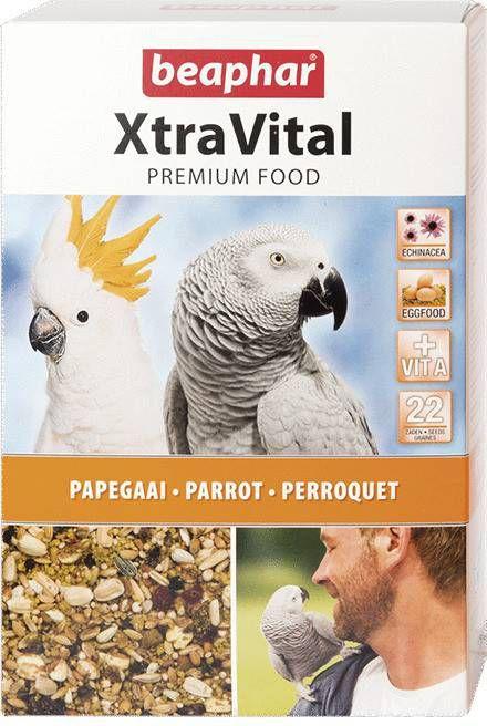 Beaphar 4x XtraVital Papegaaienvoer 1 kg online kopen